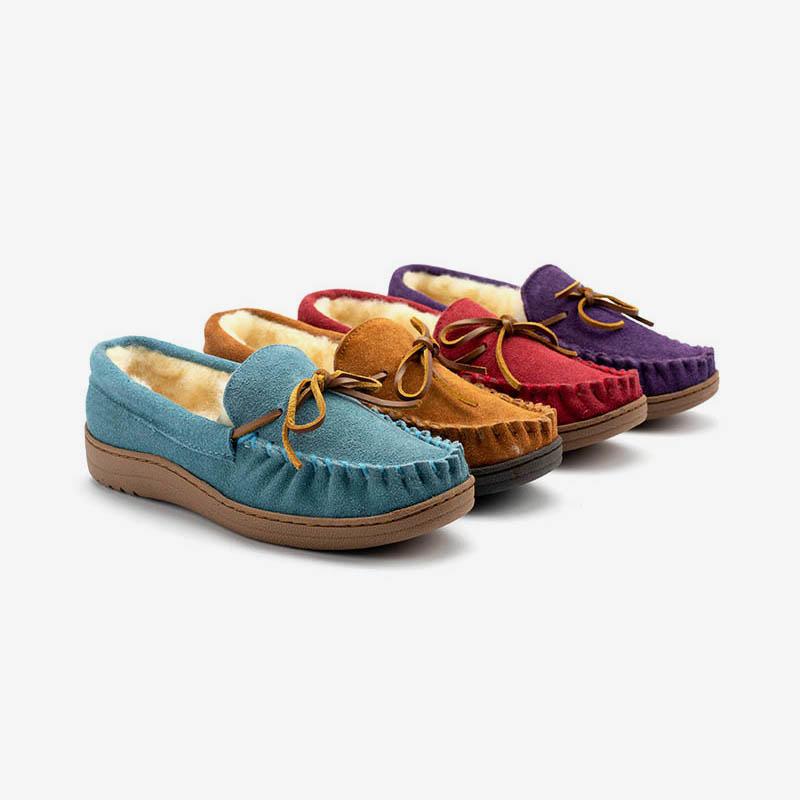 Gofar custom suede moccasins company for women