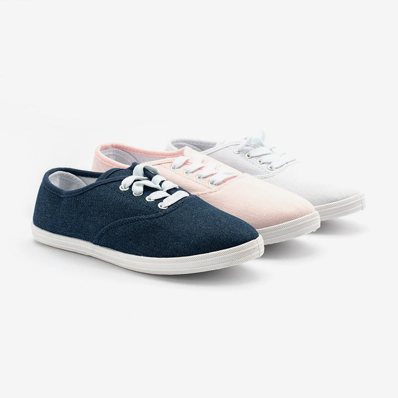 Classic Casual Canvas Lace-up Sneakers Shoes