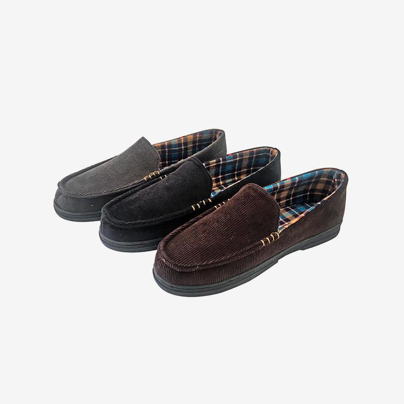 Comfortable Corduroy Upper House Indoor Slippers