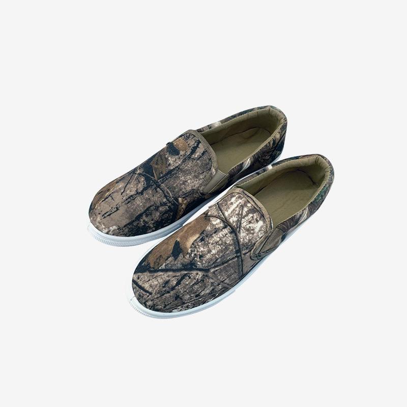 Stylish Camo Basic Canvas Sneakers