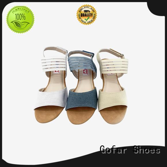 Gofar wholesale flat sandals suppliers for women