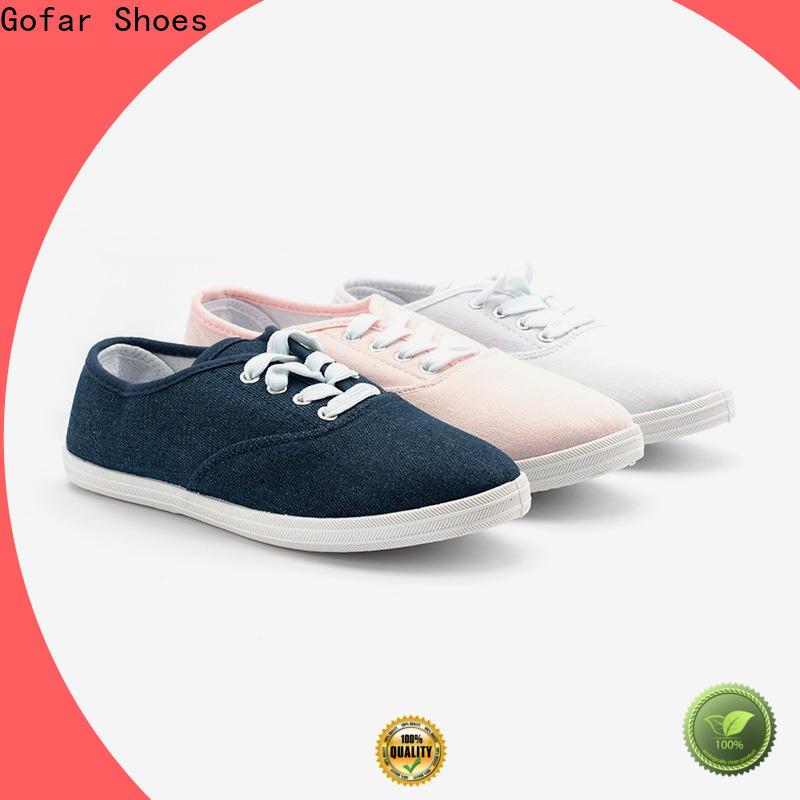 Gofar canvas footwear factory for sports