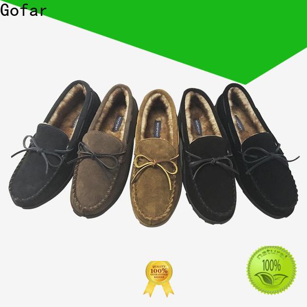 Gofar best womens moccasin slippers supply for men