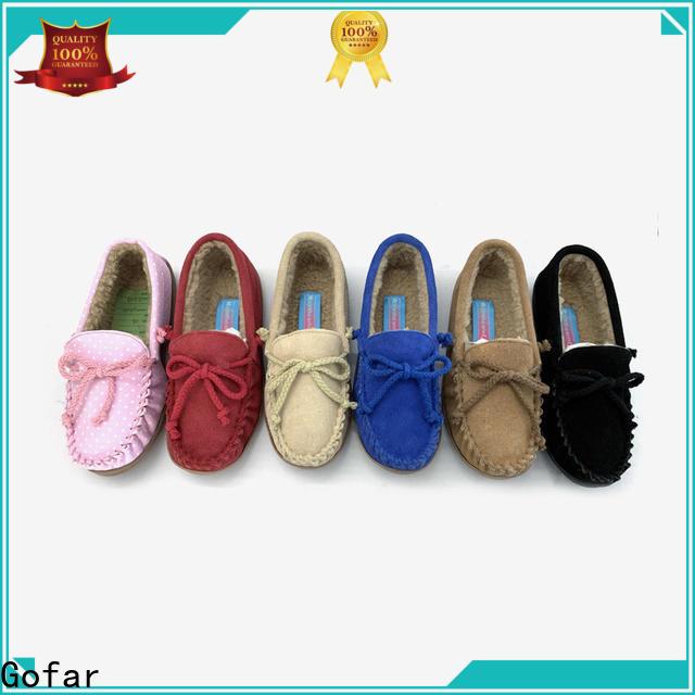 Gofar custom suede moccasins suppliers for guys