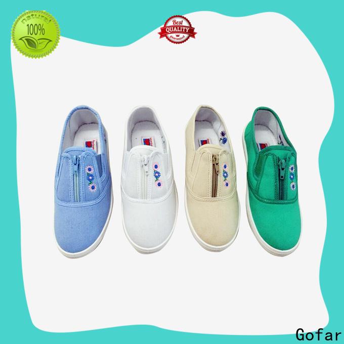Gofar top canvas footwear for business for men