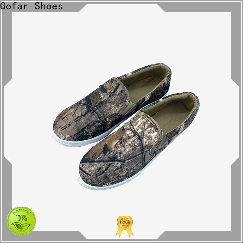 Gofar best flat canvas shoes for business for men