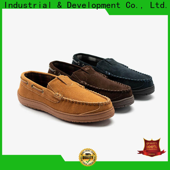 Gofar latest suede moccasin slippers company for guys