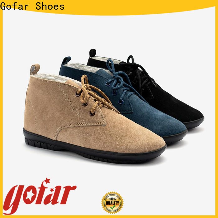 Gofar winter ankle boots company for men