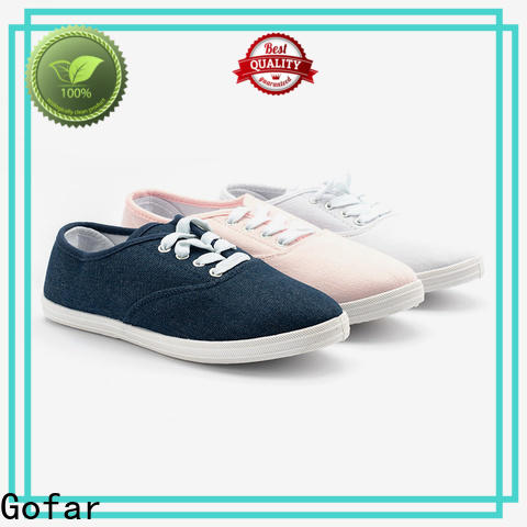 Gofar canvas sneakers manufacturers for running