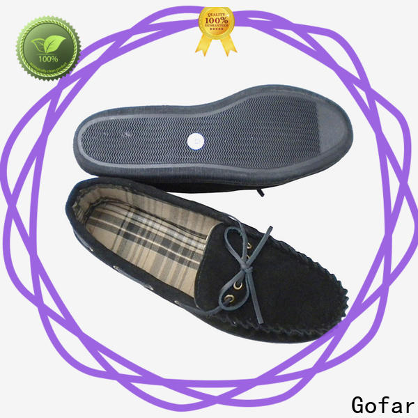 Gofar new suede moccasin slippers for business for guys