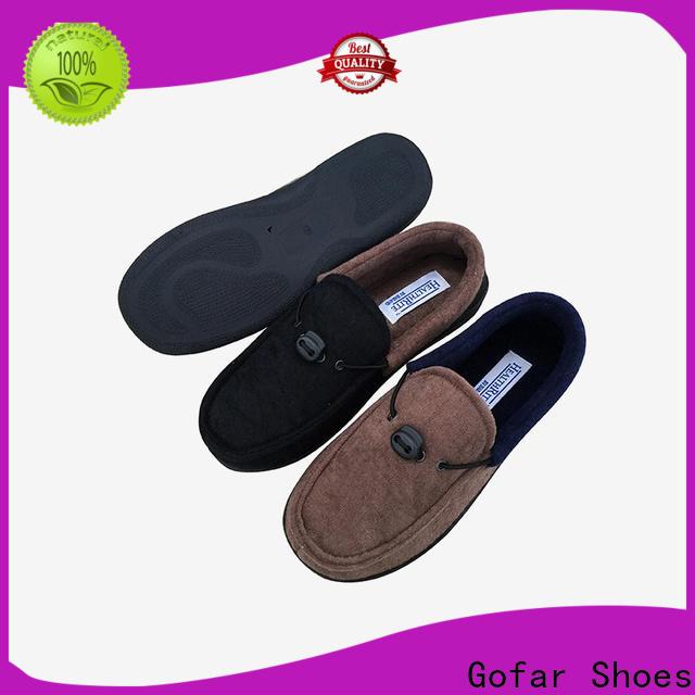 Gofar best home slippers factory for men